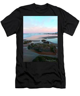 Oregon Coast 2 Men's T-Shirt (Athletic Fit)