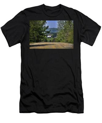Over The Hill Men's T-Shirt (Athletic Fit)