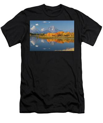 Oxbow Bend Reflection Men's T-Shirt (Athletic Fit)
