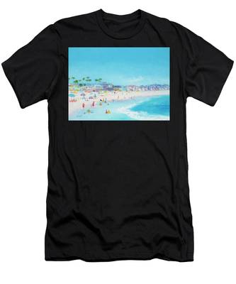 Pacific Beach In San Diego Men's T-Shirt (Athletic Fit)