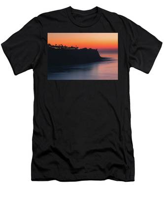 Palos Verdes Coast After Sunset Men's T-Shirt (Athletic Fit)