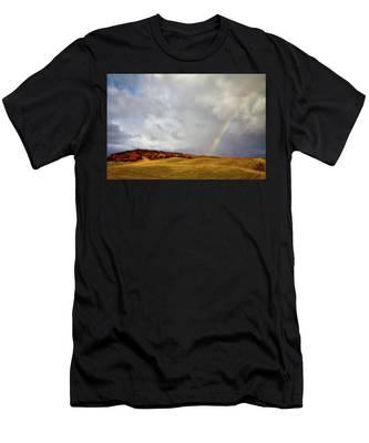 Palouse Rainbow Men's T-Shirt (Athletic Fit)