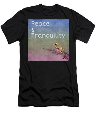 Peace And Tranquility  Men's T-Shirt (Athletic Fit)