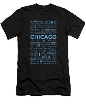 Chicago Black And White T-Shirts