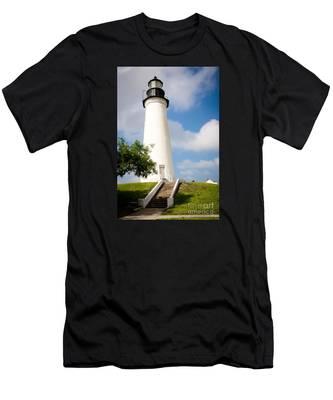 Port Isabel Lighthouse Men's T-Shirt (Athletic Fit)