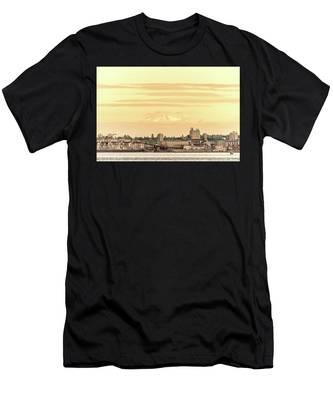 Port Of Vancouver Men's T-Shirt (Athletic Fit)