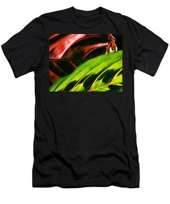Prayer Plant Passing Men's T-Shirt (Athletic Fit)