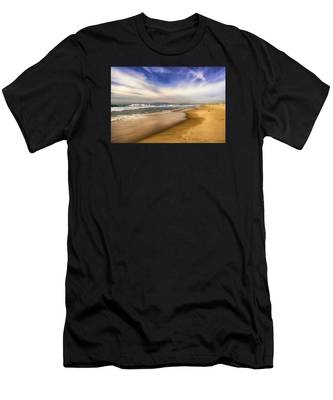 Quiet Reflections Of Hermosa Men's T-Shirt (Athletic Fit)
