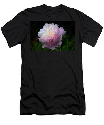 Rain-kissed Peony Men's T-Shirt (Athletic Fit)