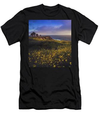 Rancho Palos Verdes Super Bloom Men's T-Shirt (Athletic Fit)