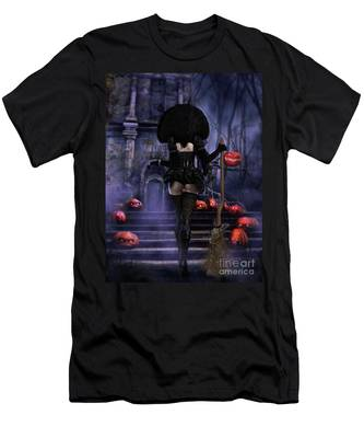 Ready Boys Halloween Witch Men's T-Shirt (Athletic Fit)
