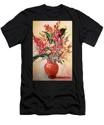 Red Vase Men's T-Shirt (Athletic Fit)