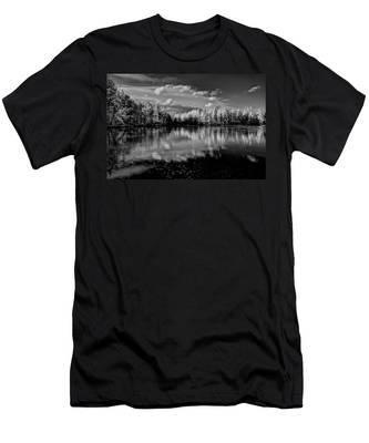 Reflections Of Tamaracks Men's T-Shirt (Athletic Fit)