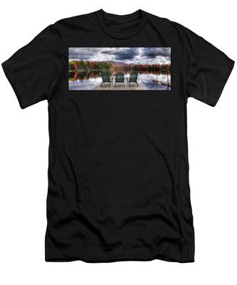 Relishing Autumn Men's T-Shirt (Athletic Fit)