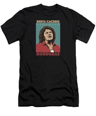 Remember Berta Caceres Men's T-Shirt (Athletic Fit)