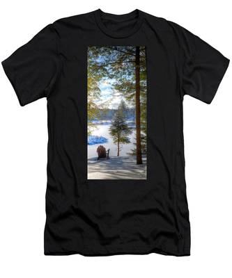 River View Men's T-Shirt (Athletic Fit)