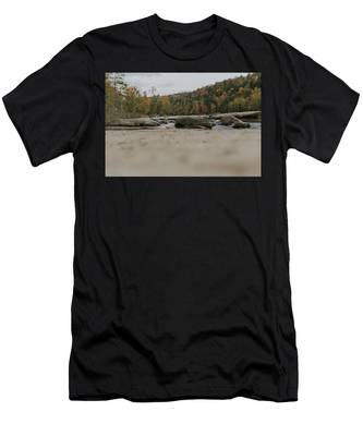 Rocks On Cumberland River Men's T-Shirt (Athletic Fit)