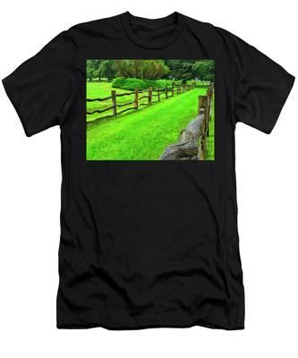 Rolling Rock Bridle Trail 2 Men's T-Shirt (Athletic Fit)