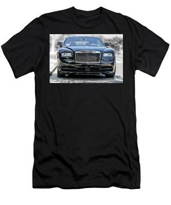 Rolls - Royce Wraith Coupe 2016 Men's T-Shirt (Athletic Fit)