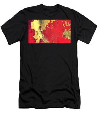 Rust Men's T-Shirt (Athletic Fit)