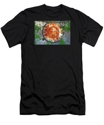 Rusty Sun Men's T-Shirt (Athletic Fit)