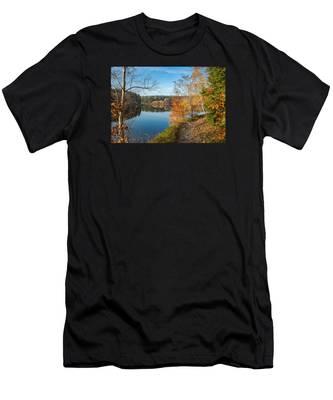Saegemuellerteich, Harz Men's T-Shirt (Athletic Fit)