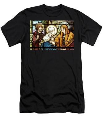 Saint Anne's Windows Men's T-Shirt (Athletic Fit)