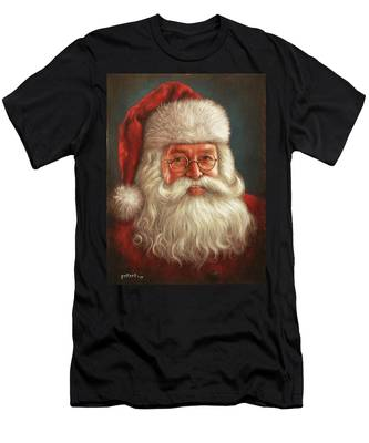 Santa 2017 Men's T-Shirt (Athletic Fit)