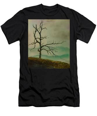 Sentinel Of The Shenandoah  Men's T-Shirt (Athletic Fit)