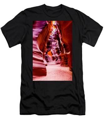 Serene Light Men's T-Shirt (Athletic Fit)