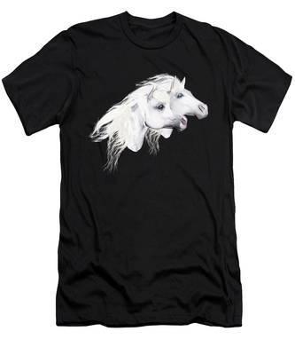 Silver Manes Men's T-Shirt (Athletic Fit)