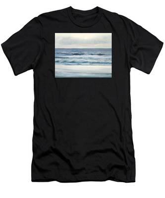 Silvery Morn Men's T-Shirt (Athletic Fit)