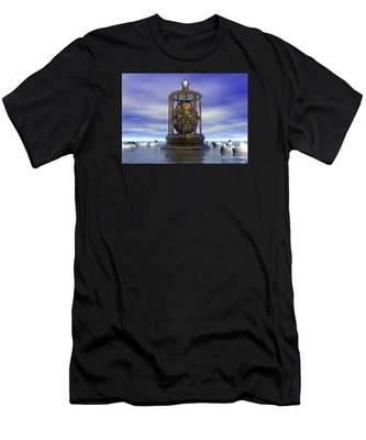 Sixth Sense - Surrealism Men's T-Shirt (Athletic Fit)