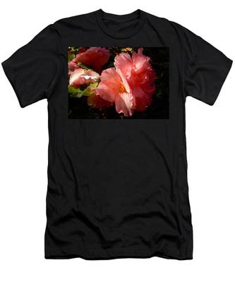 Splash Of Begonia Men's T-Shirt (Athletic Fit)