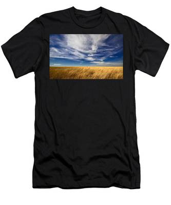 Men's T-Shirt (Athletic Fit) featuring the photograph Splendid Isolation by Carl Young
