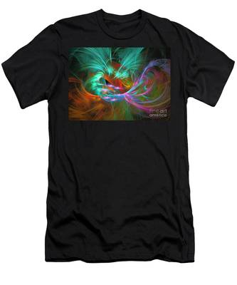 Spring Riot - Abstract Art Men's T-Shirt (Athletic Fit)