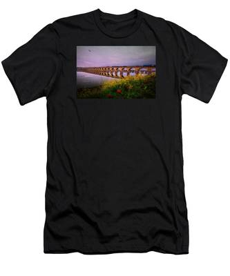 Springtime Reflections From Shipoke Men's T-Shirt (Athletic Fit)