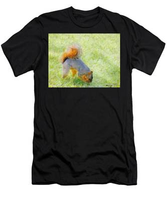 Squirrelly Men's T-Shirt (Athletic Fit)