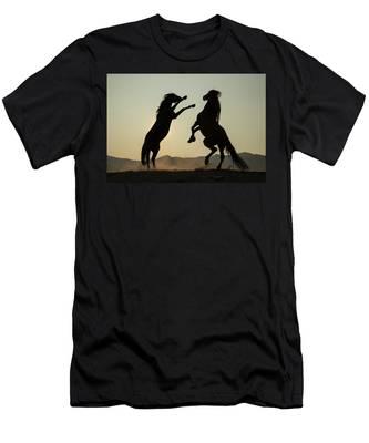Stallion's Dance Men's T-Shirt (Athletic Fit)