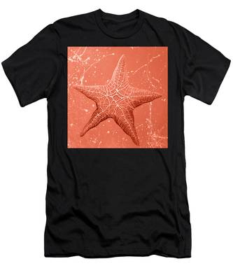 Starfish In Pink Men's T-Shirt (Athletic Fit)