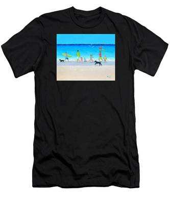 Summer Vacation Time Men's T-Shirt (Athletic Fit)