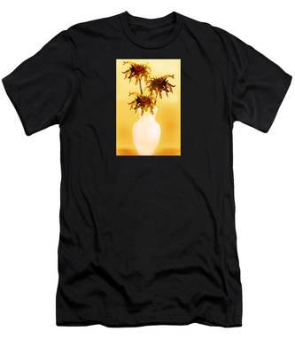 Sunflowers Men's T-Shirt (Athletic Fit) by Teresa Epps