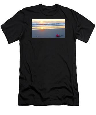 Sunrise Rose Men's T-Shirt (Athletic Fit)