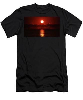 Sunrise Spotlight Delray Beach Florida Men's T-Shirt (Athletic Fit)