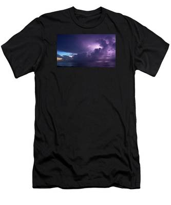 Sunrise Thunderstorm Men's T-Shirt (Athletic Fit)