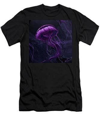 Tentacles Men's T-Shirt (Athletic Fit)