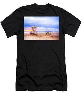 That Was Amazing Watercolor Men's T-Shirt (Athletic Fit)