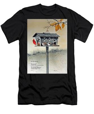 The Birdfeeder Men's T-Shirt (Athletic Fit)