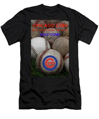 The Chicago Cubs - Holy Cow Men's T-Shirt (Athletic Fit)
