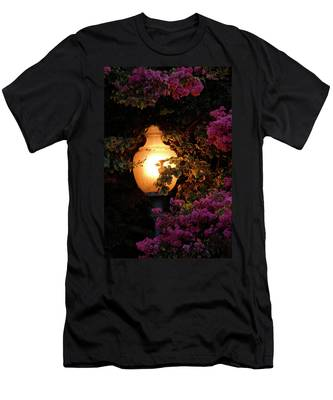 Men's T-Shirt (Athletic Fit) featuring the photograph The Glow by Howard Bagley